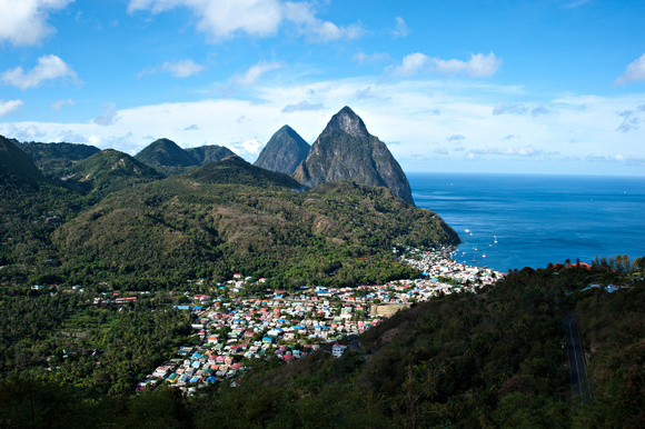 Bill Mortley_Utrip Planner_The Pitons_